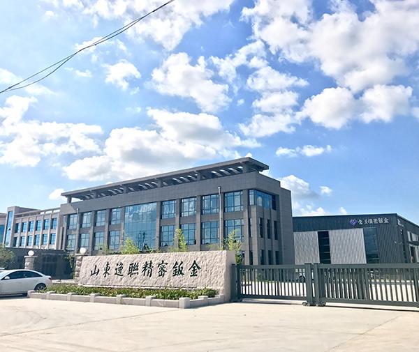 钣金加工工艺流程厂区门口